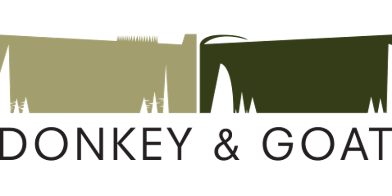 logo of donkey and goat winery